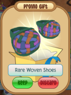 Woven shoes (MS)