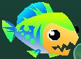 Eat 'Em Up Fish Level 4 Appearance