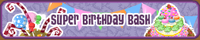 Party-Banner Birthday