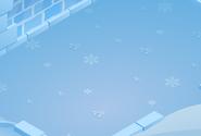 Snow-Fort Blue-Shag-Carpet
