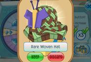 Member-Spin-Gift Rare-Woven-Hat