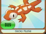 Gecko Plushie