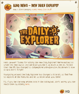 Daily-Explorer New-First-Post