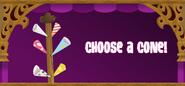 Cotton-Candy-Machine Choose-Cone