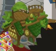 Cosmo's Tree House in diamond shop