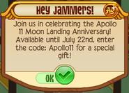 Hey Jammers Apollo 11
