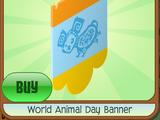 World Animal Day Banner