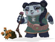 Liza panda alpha old art