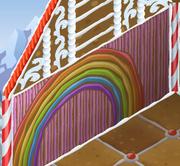 Jamaaliday-House Rainbow-Pink