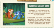 Journal Sabertooths are here