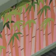 Lizas Garden Pink Forest Walls