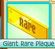 Trade Giant Rare Plaque