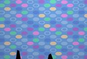 Pecks-Den Blue-Shag-Carpet