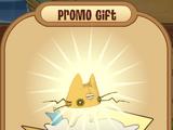 Rare Gold Cat Hat