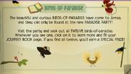 Birds of paradise jamaa journal