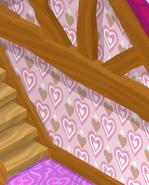Friendship-Cottage Pink-Argyle-Walls