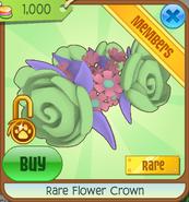Rare flower crown