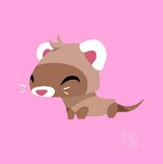 Taylor Maw Pet Ferret Concept Art