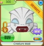 Creature Mask white