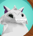 Arctic Wolf avatar glitch 1