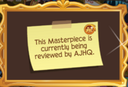Masterpiece Gold being-reviewed