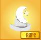 Item Rare Moon Hat white