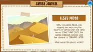 Jamaa-Journal Liza's Photo hint