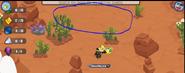 No time glitch in the forgotten desert