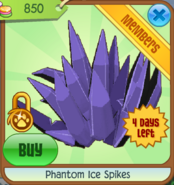 Phantom-ice-spikes