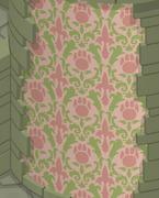 Sky-Kingdom Pink-Striped-Walls