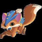 Fox art running arrows