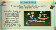 Pets only party jamaa journal