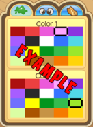 Pet-Customization Example-Colors
