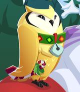 Great Horned Owl homepage art