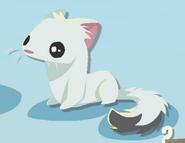 Pet Ferret Polar Bear Minibook art
