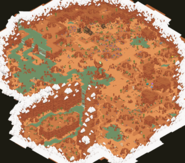 The forgotten desert map