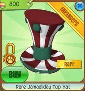 Rare Jamaaliday Top Hat