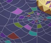 Pecks-Den Spiderweb-Floor