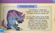 Traveling hyenas