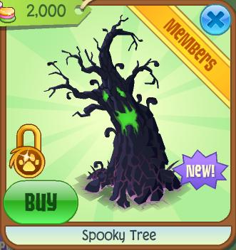 Spooky Tree Animal Jam Wiki Fandom