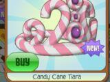 Candy Cane Tiara