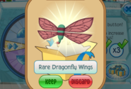 Member-Spin-Gift Rare-Dragonfly-Wings