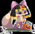 Fox art egyptian costume