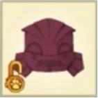 Magenta Creature Mask