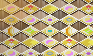 Pecks-Den Yellow-Diner-Tiles