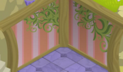 Fantasy Castle Pink Forest Walls