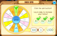Daily-Spin Max-Gems