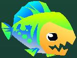 Eat 'Em Up Fish Level 5 Appearance