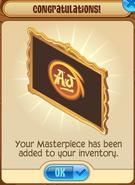 Masterpiece Gold Added