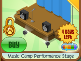 Music Camp Performance Stage